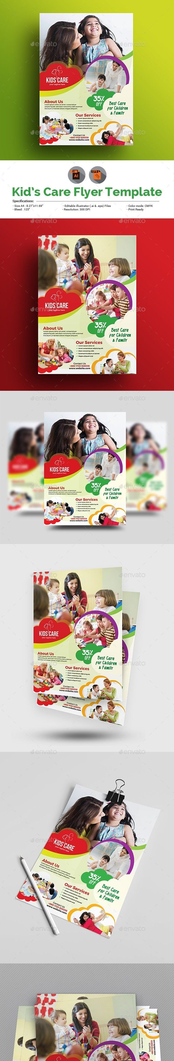 Child Care Flyer Pinterest Flyer Template Groups Poster And