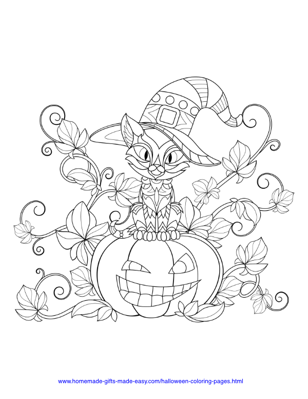 75 Halloween Coloring Pages Free Printables Halloween Coloring Book Halloween Coloring Pages Free Halloween Coloring Pages