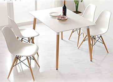 Mesa y sillas comedor estilo nordico amazon home for Mesas de comedor amazon