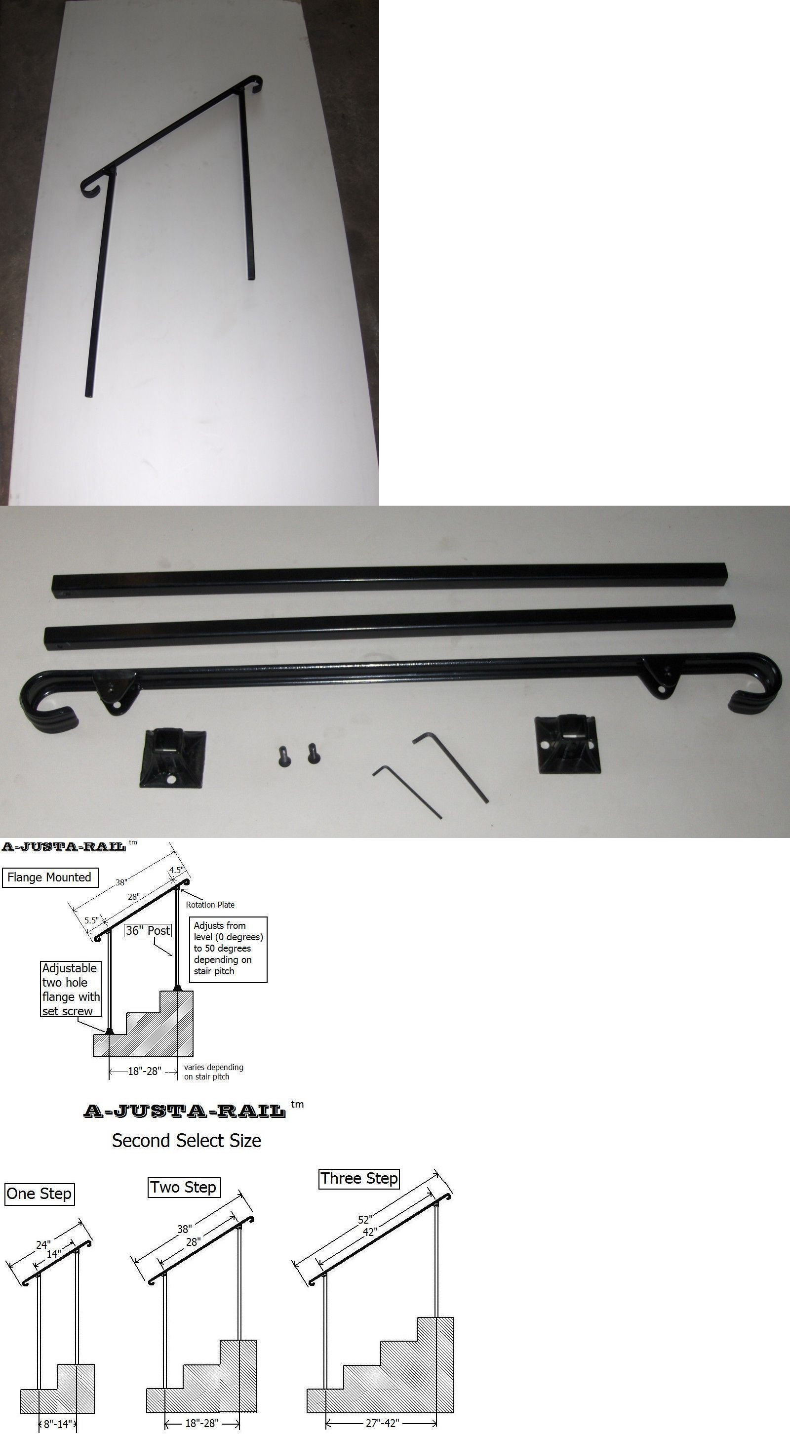 Best Balusters 162925 38 A Justa Rail With Mounting Shoe 640 x 480