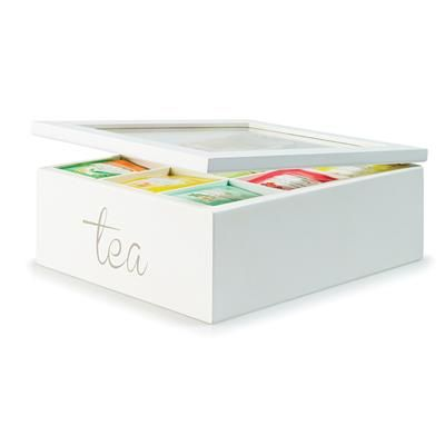 Image For Wooden Compartment Tea Box From Kmart Christmas Tea