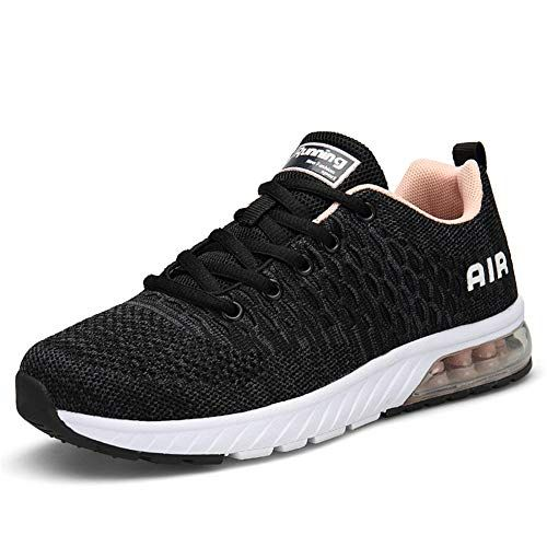 Running Shoes Mens Womens Trainers Fitness Sports Shoes Road Walking Gym Shoes Sneakers Lightweight...