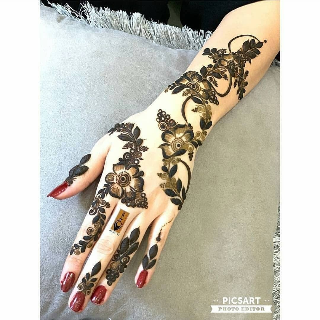 13 Unique Henna Designs Doing The Rounds This Wessing: Pin By Sajila Mishal On Henna