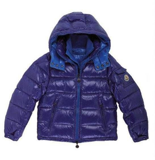 39b3c3d12 Moncler Kids Blue Zin Baby Collar Down Jacket | kids | Moncler ...