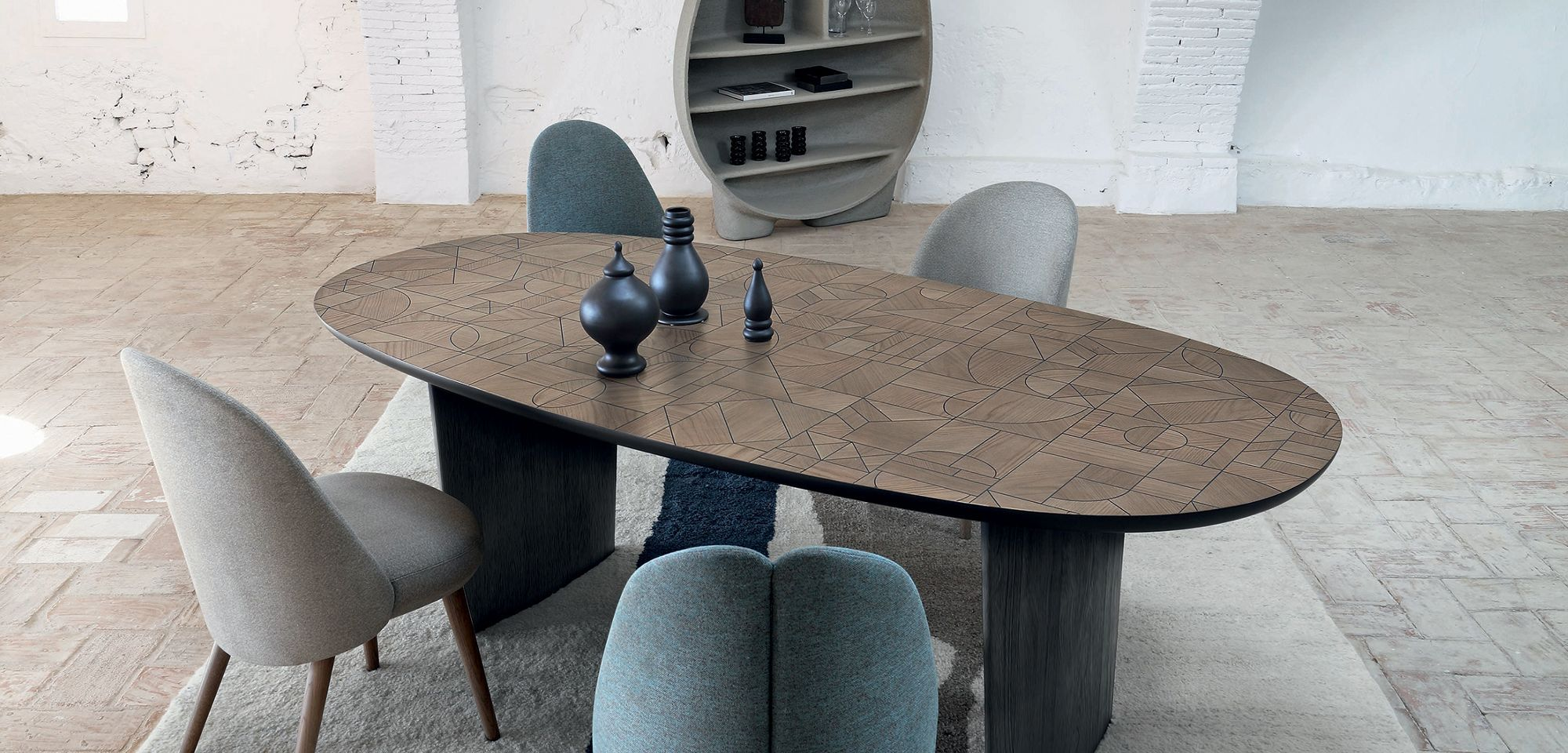 Patchwork Dining Table New Collection Roche Bobois Dining