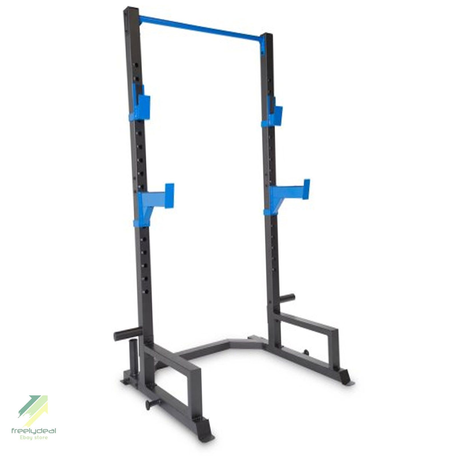 Power Lifing Cage Press Weight Rack Squat Fitness Pull Up Bench