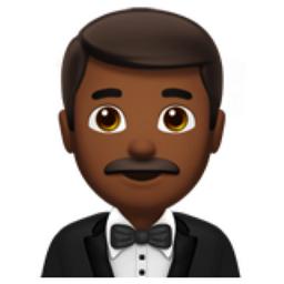 Man In Tuxedo Medium Dark Skin Tone Emoji U 1f935 U 1f3fe Medium Dark Skin Tone Tuxedo For Men Skin Tones