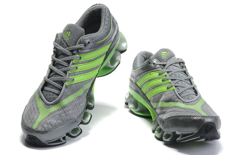 Adidas Titan Bounce Cool Grey Fluorescent Green Adidas Shoes off!
