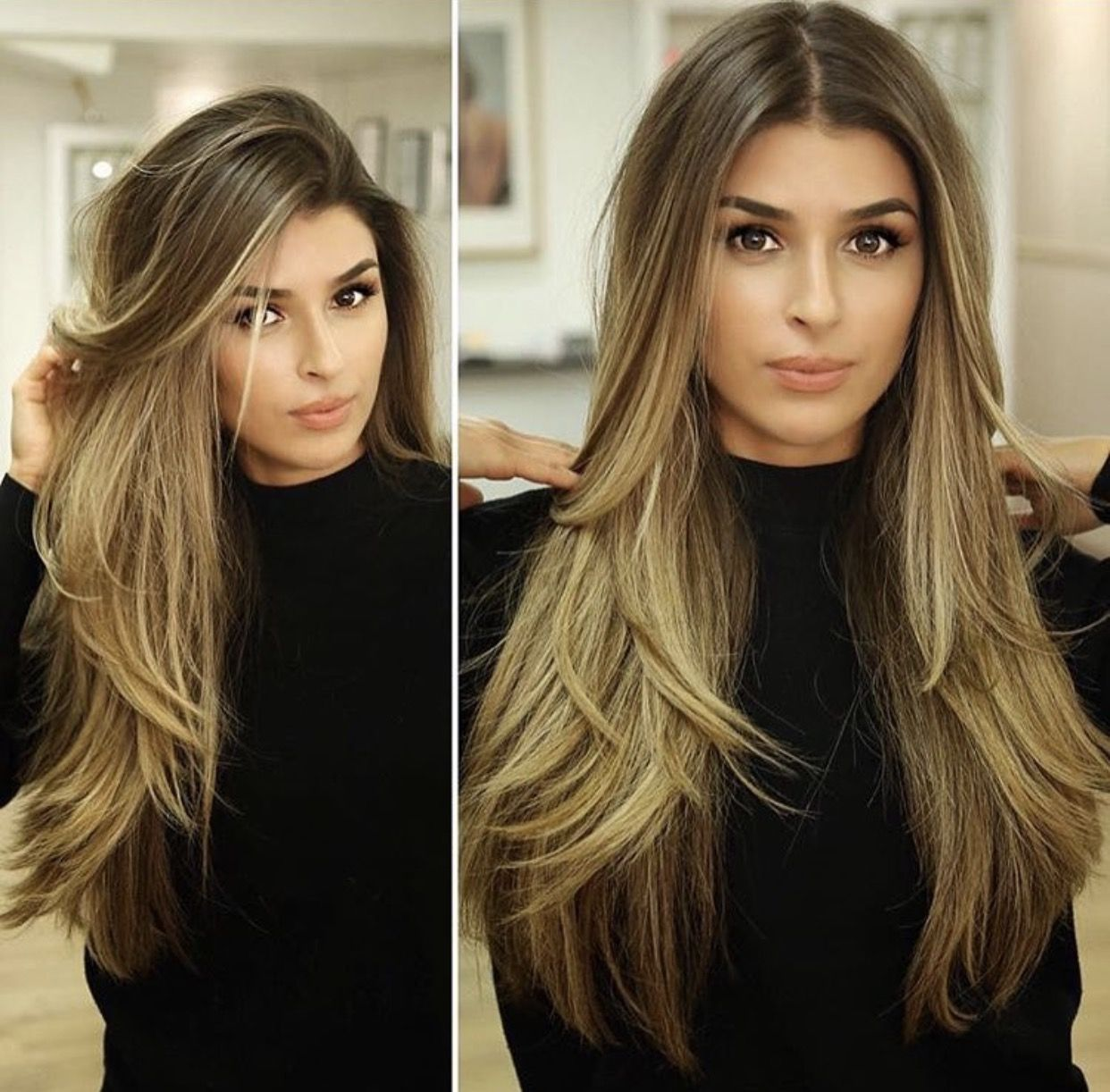 Long Beautiful Hair With Face Framing Avedaibw Long Hair Styles Long Layered Hair Hair Styles