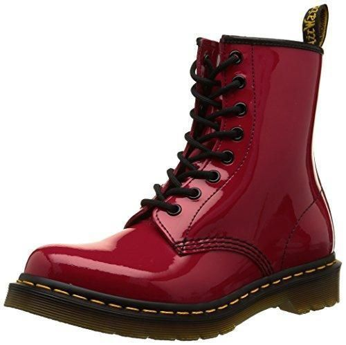 Zapatos negros estilo militar Dr. Martens Smooth para mujer 5JslRIeQgW
