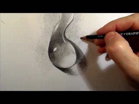 How to draw a glass of water youtube · pencil drawing