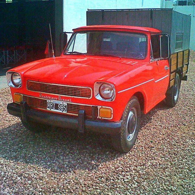 El Rastrojero Diesel Modelo 68 De Cruji Oldcar Argentina Por