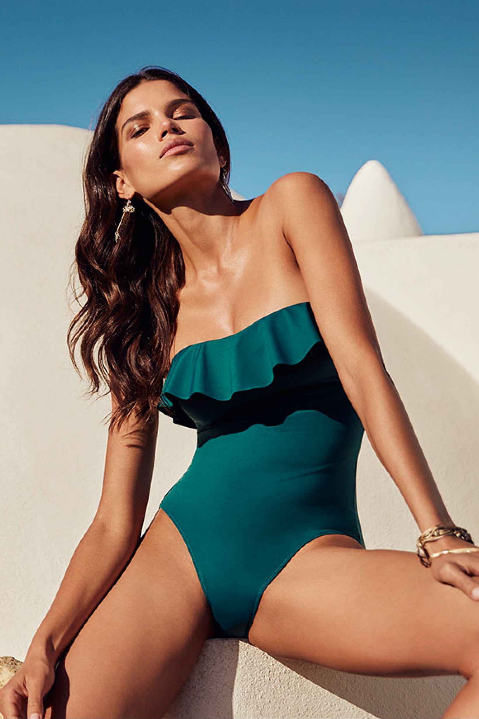 Women'secret Perfect BeachPleaseBy Body Swimsuit Green xshrdCtQ