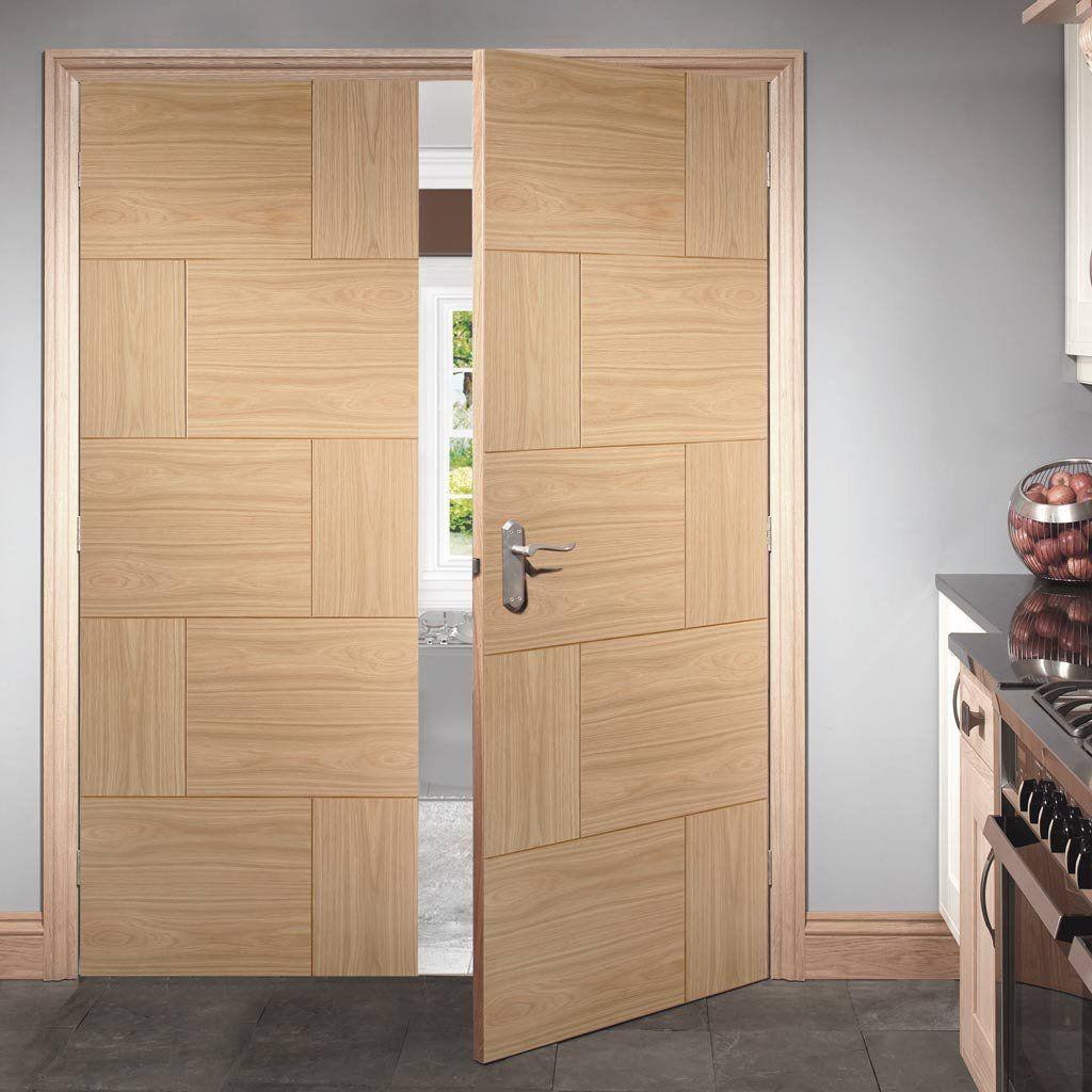 Genial Ravenna Oak Flush Panel Door Pair, Beautiful Styling, Solid And A Nice  Range Of Sizes. #doorpair #doubledoors #frenchdoors
