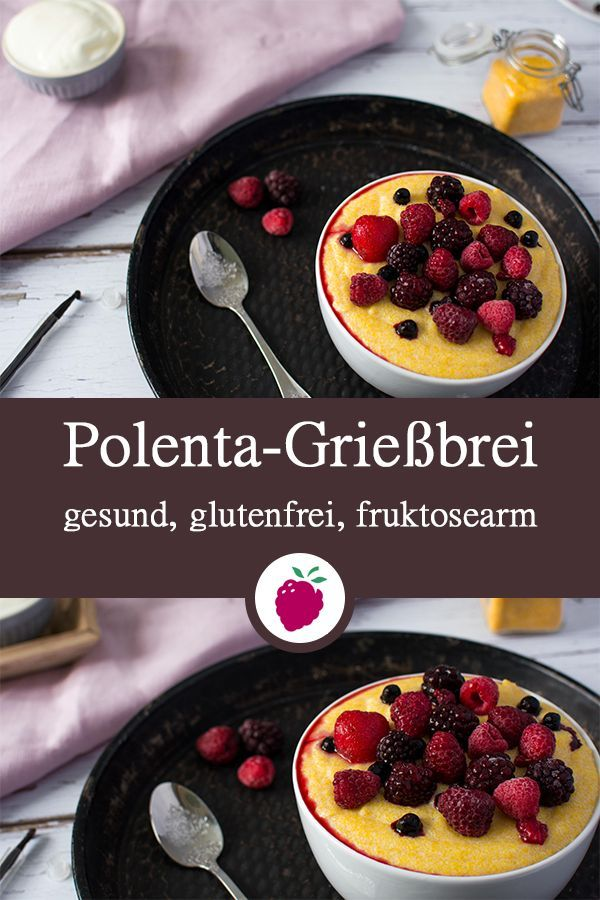 Photo of Polenta semolina pudding with vanilla – healthy and sugar-free | Spelled & berries