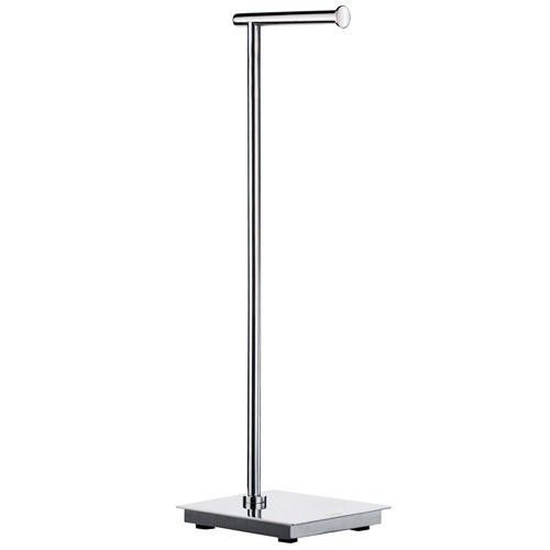 Outline Lite Pedestal Toilet Paper Stand Square Base Pol Stainless Steel