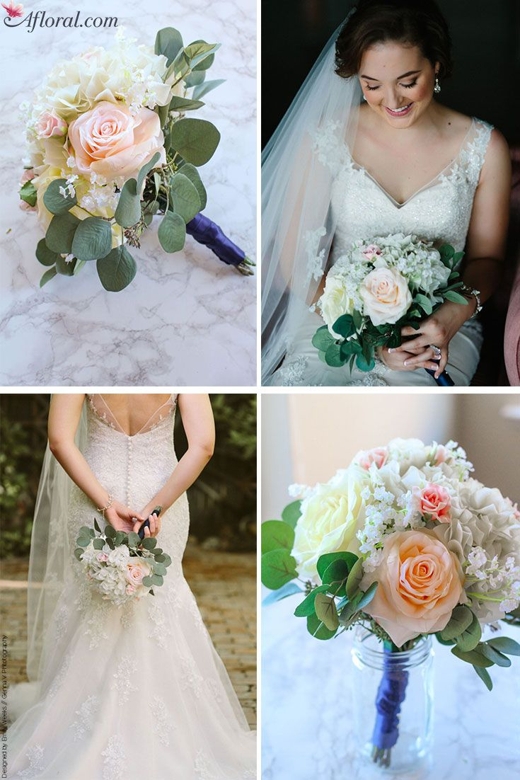 How To Make A Silk Flower Bouquet Spring wedding