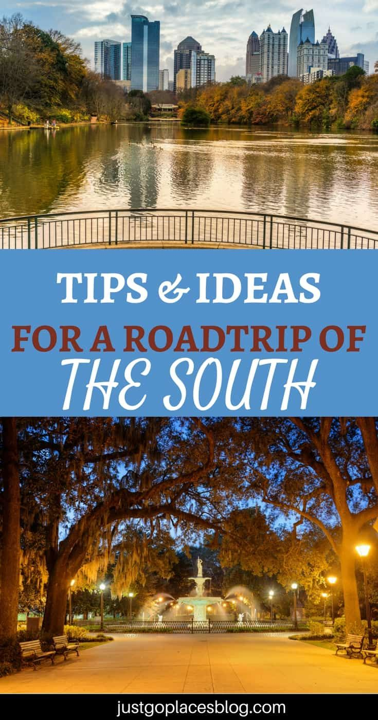The Best Tips and Ideas for Your Southern USA road trip #usroadtrip