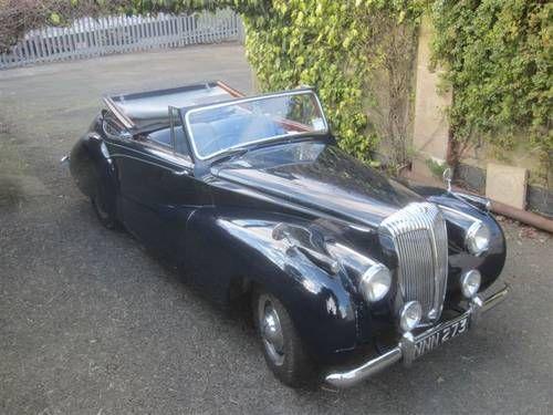 Daimler Db18 Barker Special Sports 1950 Classic Cars Jaguar