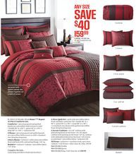 Wholehome Regant 12 Piece Comforter Set From Sears Catalogue