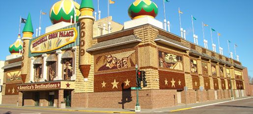 the corn palace coloring pages - photo#35