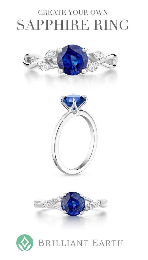 A distinctive and vibrant choice, sapphires have been valued for their vivid color and durability for centuries. Choose your favorite sapphire, then select your ideal setting to create your own sapphire ring.