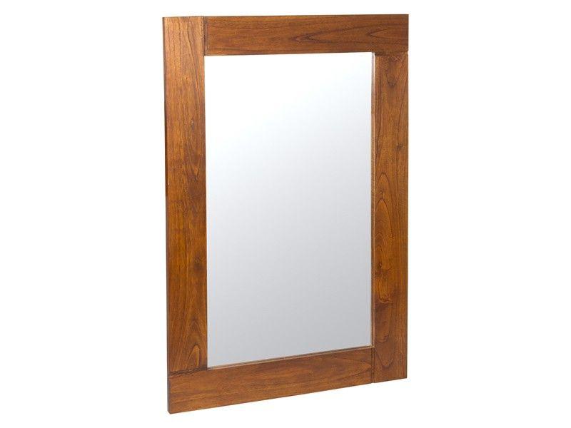 Espejo de madera estilo colonial Nature   Espejos con marco, Marcos ...
