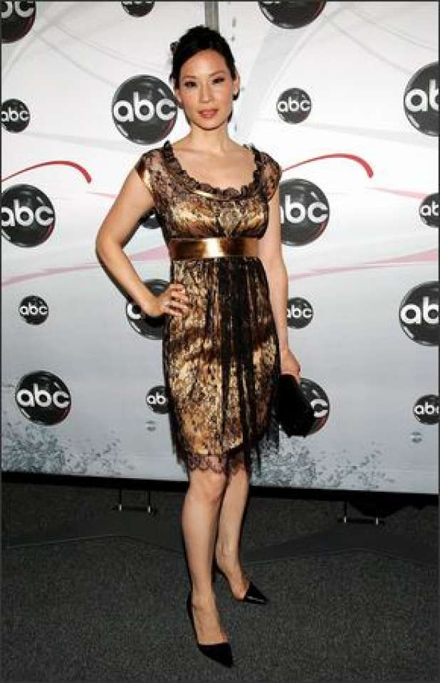 Lucy Liu attends the ABC Upfront presentation in New York, May 15, 2007.