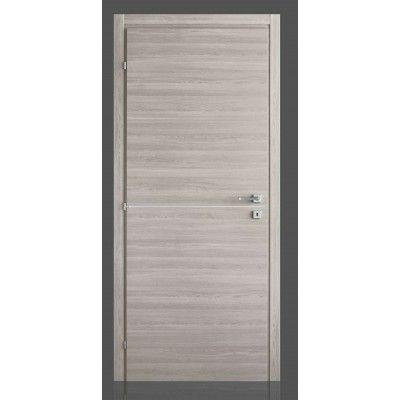 Porte interne in laminato con inserto in alluminio Simply FU, come ...