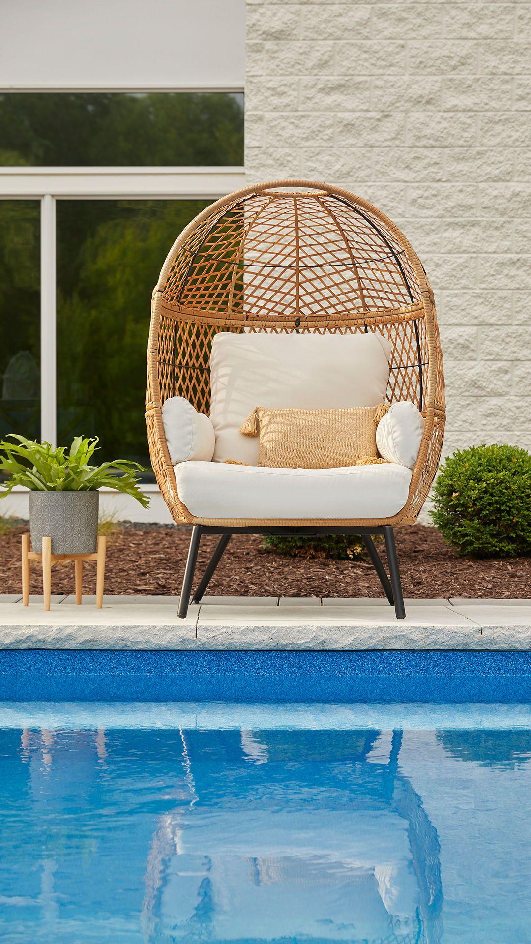 Patio & garden in 2020 Egg chair, Better homes, Pod chair