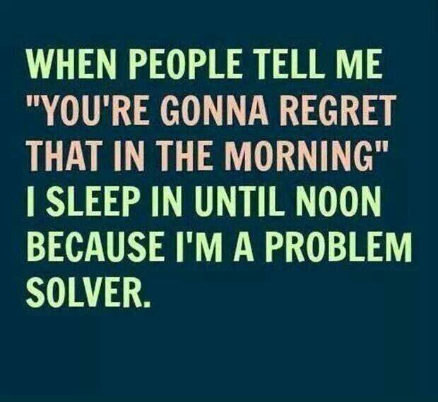 I'm a problem solver via @Rebekah Radice