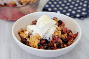 Low Carb Berry Crumble | PBCo.