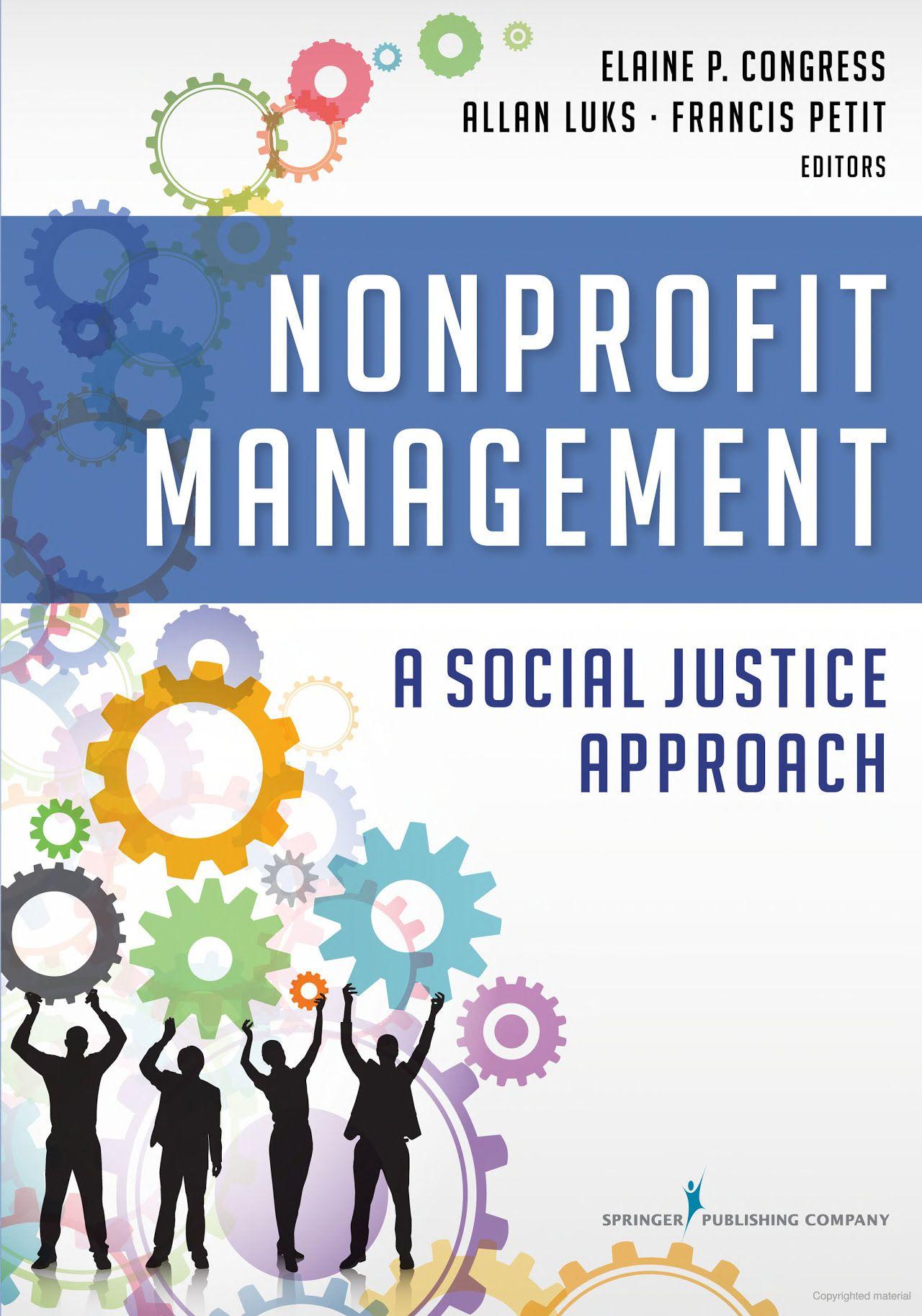 Nonprofit Management A Social Justice Approach
