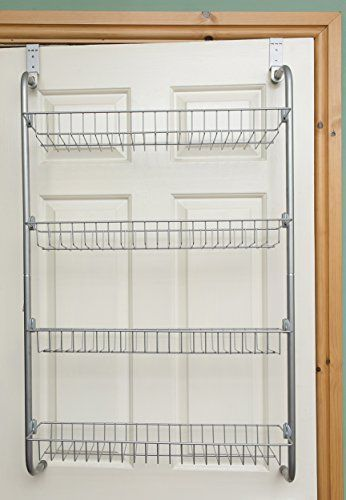 Ordinaire 4 Tier Over Door Hanging Rack / Shelves For Pantry Or Storage Cupboard