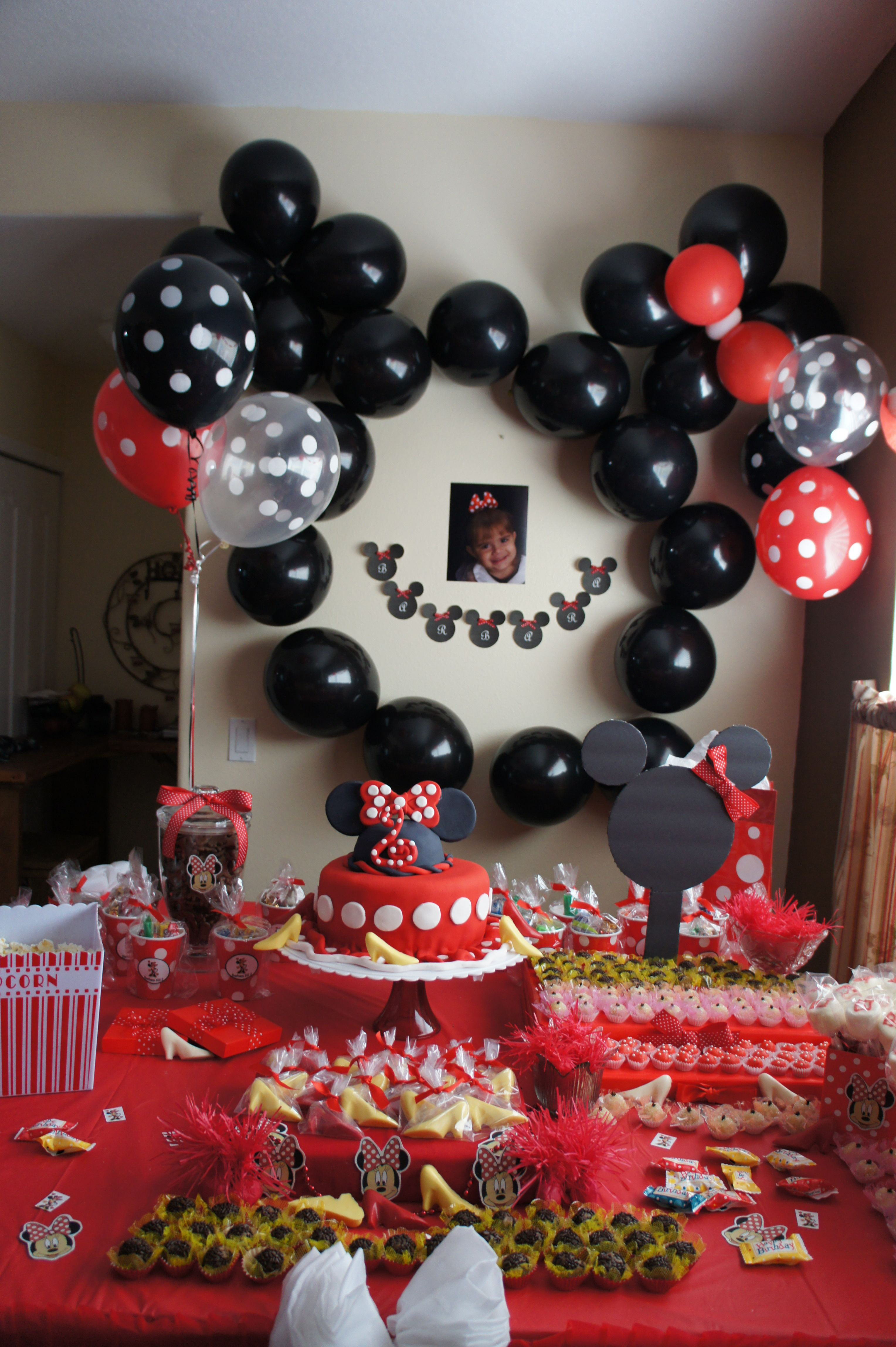 2 years old mickey mouse party 2nd birthday