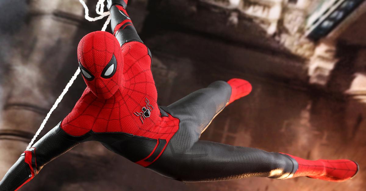 在推出 蜘蛛人 電影宣傳版 以及 蜘蛛人 潛行戰衣 普通版 豪華版之後 Hot Toys 於今 26 日再度發表來自 蜘蛛人 離家日 的1 6 比例人偶新作 蜘蛛人