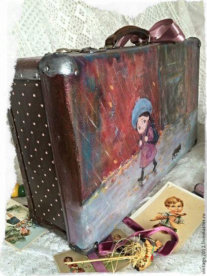 Детская ручной работы. Большой чемодан