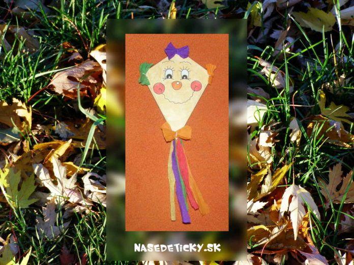 Šarkan - tvoríme s deťmi na jeseň