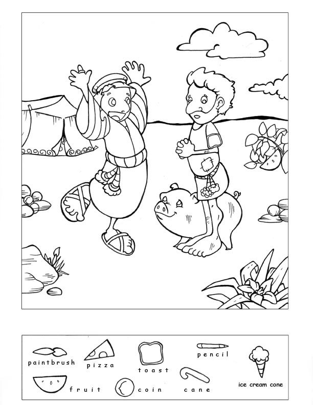 Hidden Object Puzzle And Coloring Pages