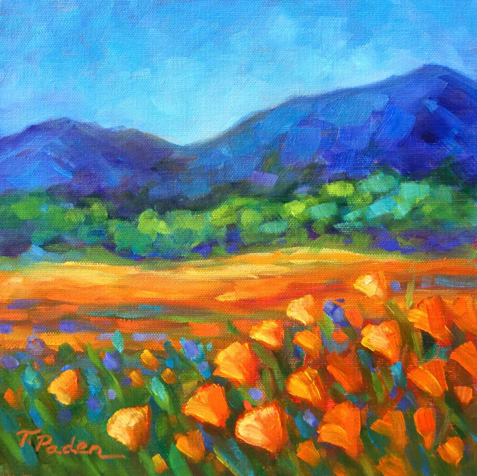 Paintings Theresa Paden Colorful Contemporary