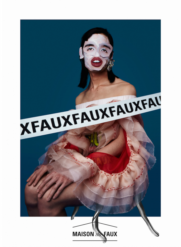 Maison the Faux's hotchpotch campagne | Independent Fashion Daily