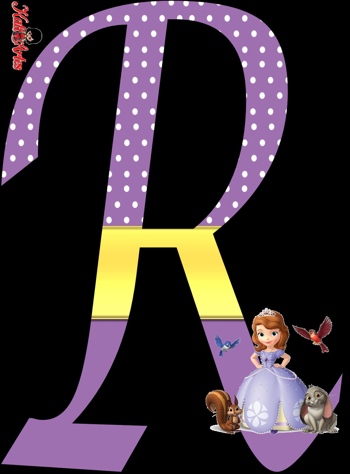 Lindo Alfabeto De Sofia Primera
