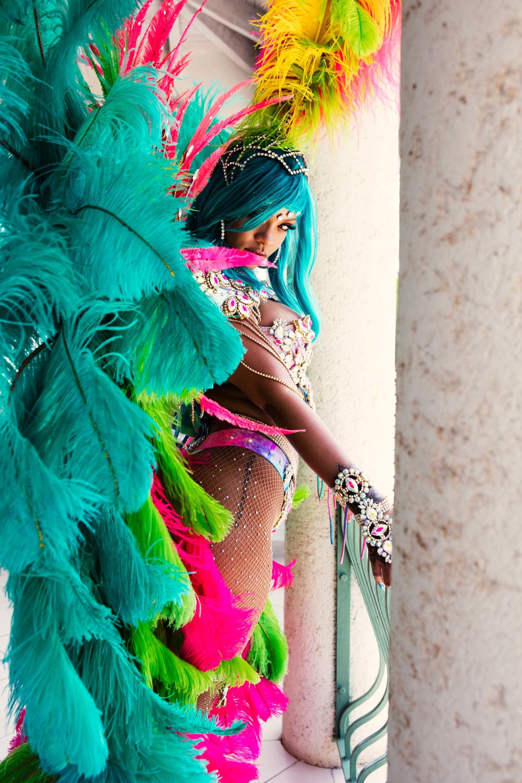 black puma shoes rihanna 2017 carnival pictures