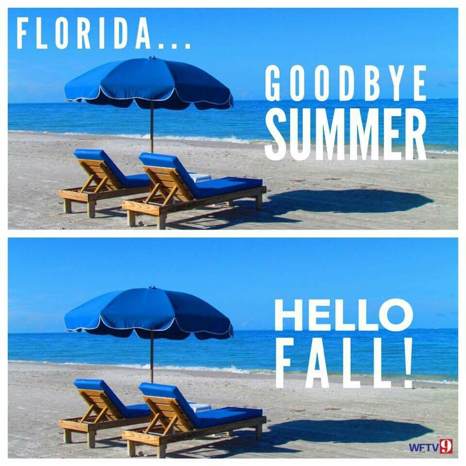 Pin by My Info on seasons Goodbye summer, Florida funny