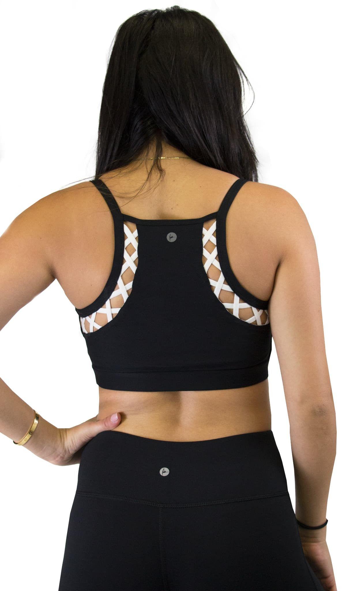 CrissCross Back Sports Bra Womens Bras 90 Degree by