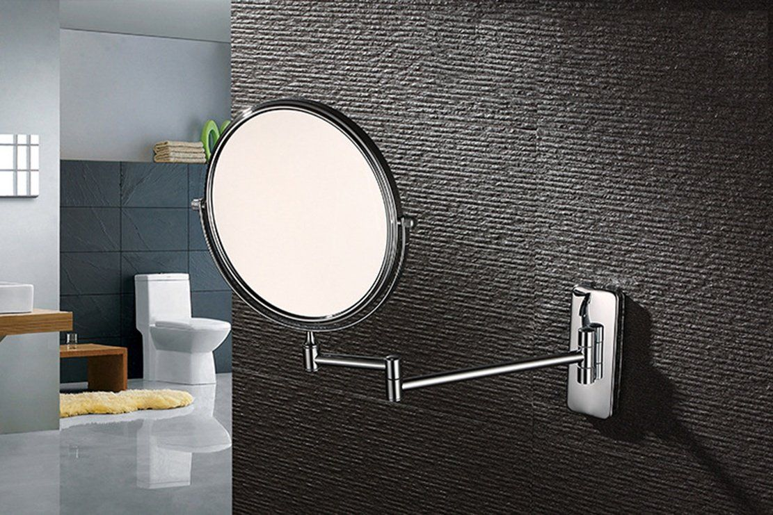 Ysayc Wall Mounted Makeup Mirror 3x Magnifying Doublesided Beauty