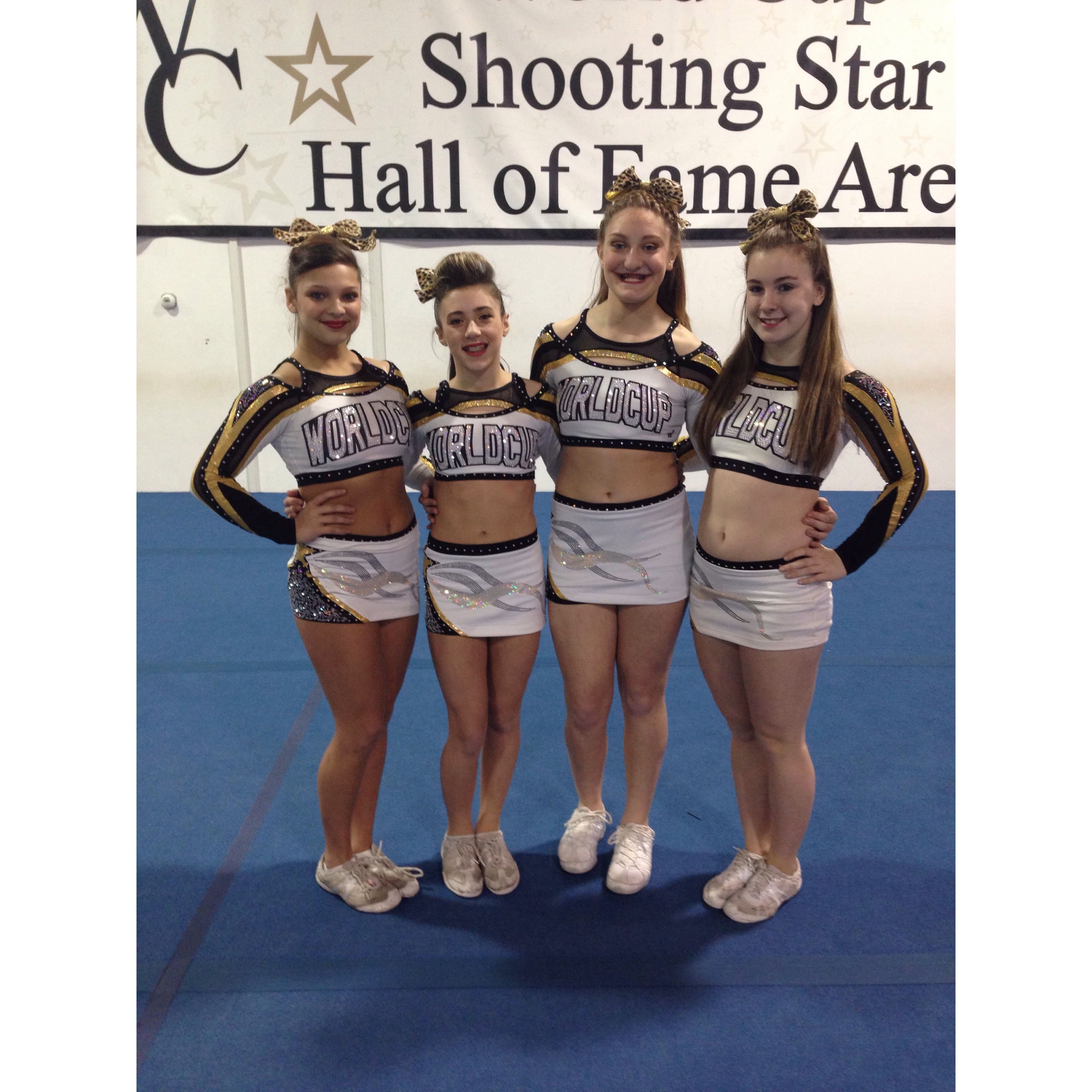 Wcss World Cup All Stars Stunt Group Allstar Cheerleading Cheerleading All Star
