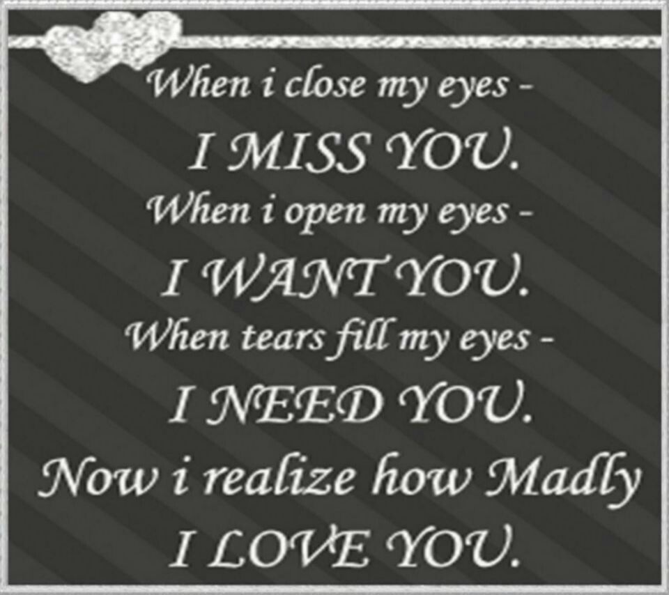 I need u  I miss you wallpaper, Qoutes about love, My love