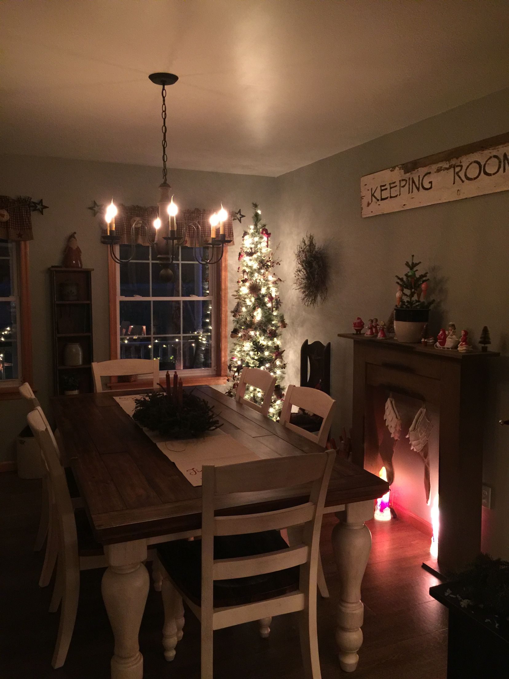 Our new dining room in our new home | Country Decor | Pinterest ...