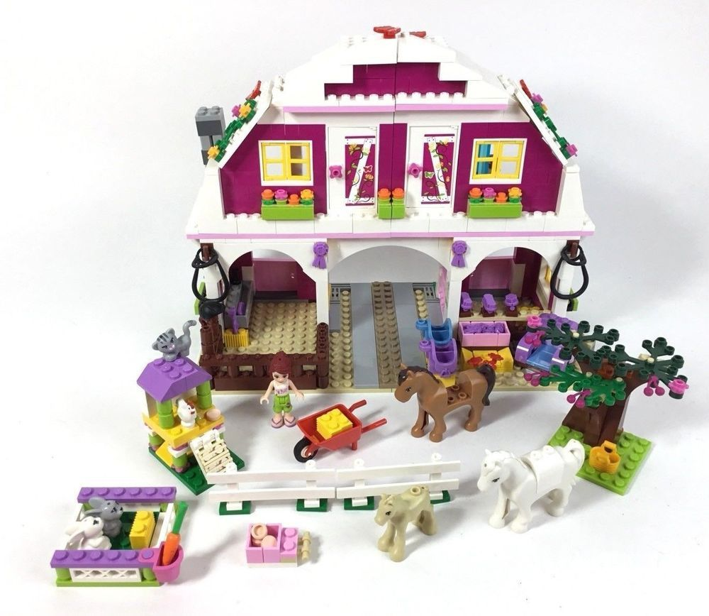 Lego Friends Sunshine Ranch 41039 Set Near Complete Lego Ebay